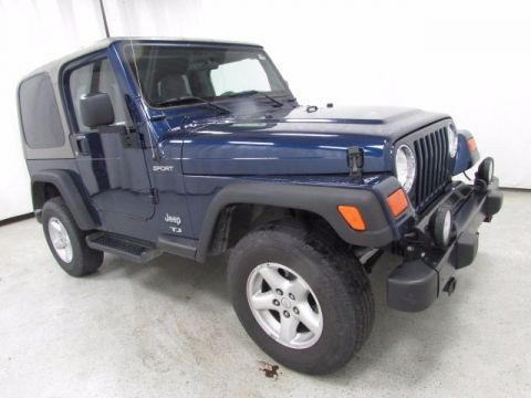 Pre-Owned 2004 Jeep Wrangler Sport 4WD