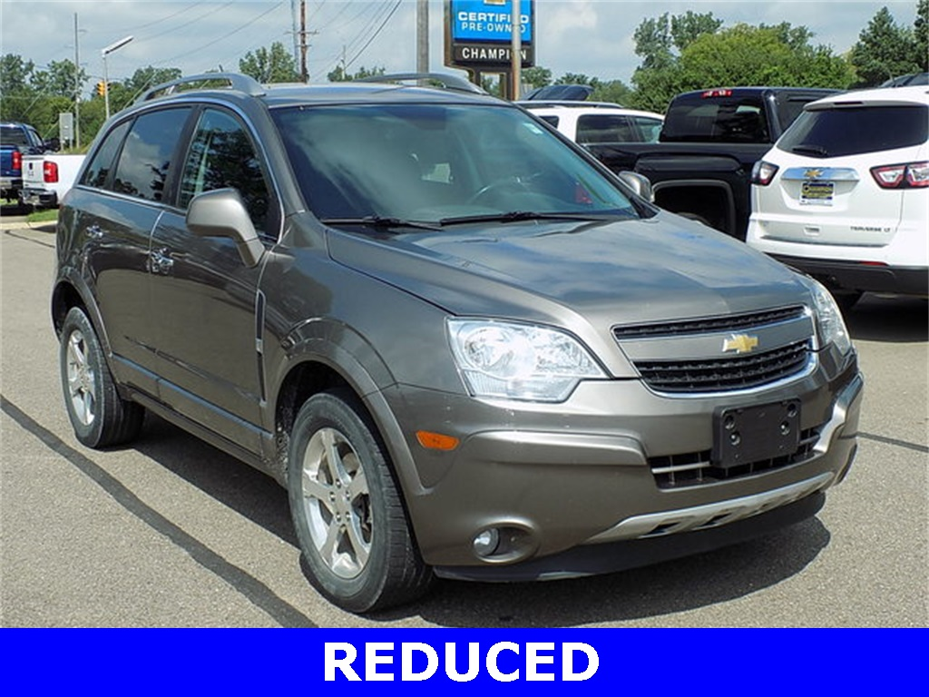 Pre-Owned 2012 Chevrolet Captiva Sport LT